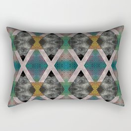 Trippin' on a mountain and falling into space Rectangular Pillow
