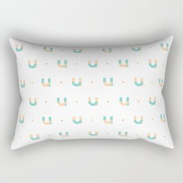 36 days of type - u Rectangular Pillow