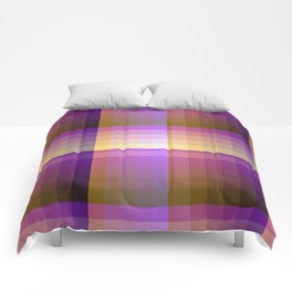 Complimentary Color Harmony ..Yellow /purple Comforters