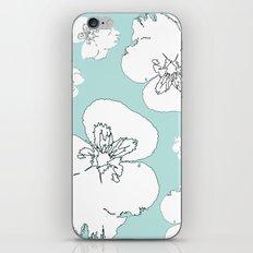 Green Pansies iPhone & iPod Skin