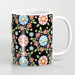 Millefiori Pinwheel Pattern Coffee Mug