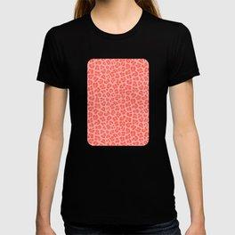 Leopard - Living Coral T-shirt