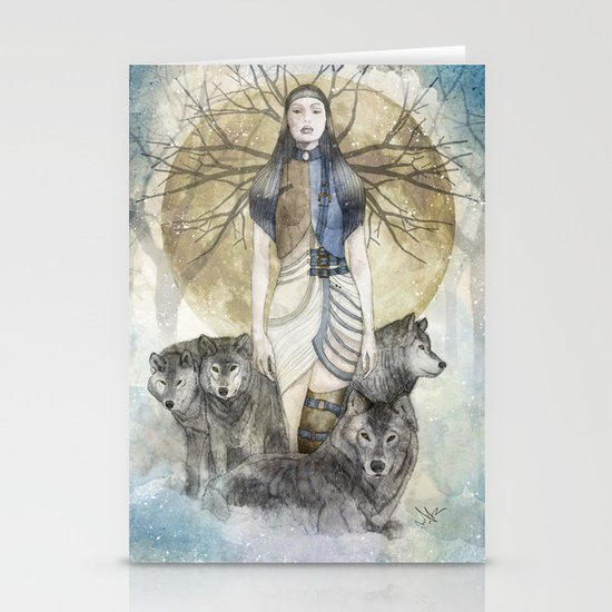 Five Souls Stationery Cards