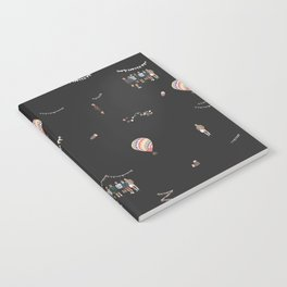 BTS Young Forever Pattern - Black Notebook