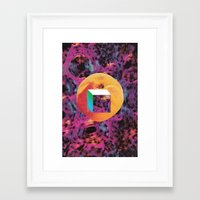 pulp Framed Art Prints featuring pulp by k mackowick