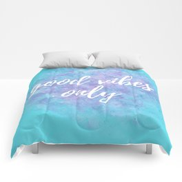 Motivational Sayings - Teal Comforters