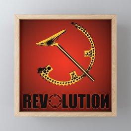 Revolution Framed Mini Art Print