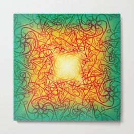 Symmetry 4: Love Metal Print
