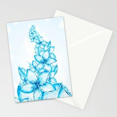Beautiful dream flowers Stationery Cards