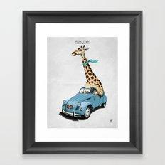 Riding High! Framed Art Print