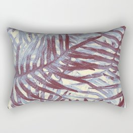 Scanned Ferns Rectangular Pillow