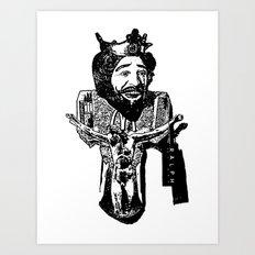 One Nation Under Burger King Art Print
