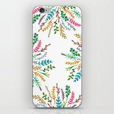 Radial Foliage iPhone & iPod Skin