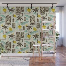 Island Tiki - Tan Wall Mural