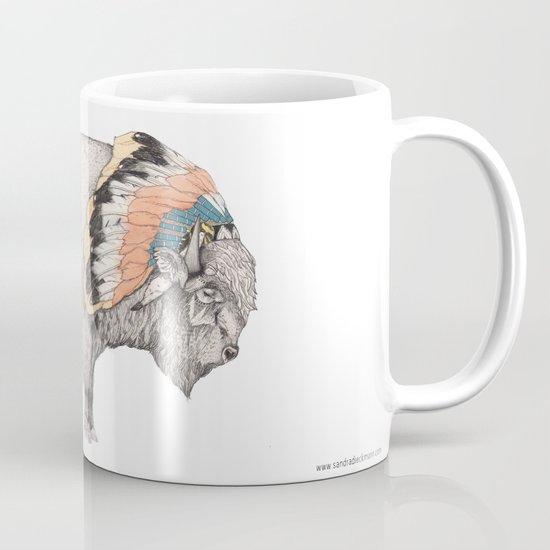 White Bison Mug