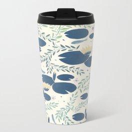 waterlilies Metal Travel Mug