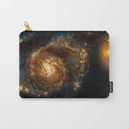 Starry Galaxy Night Carry-All Pouch