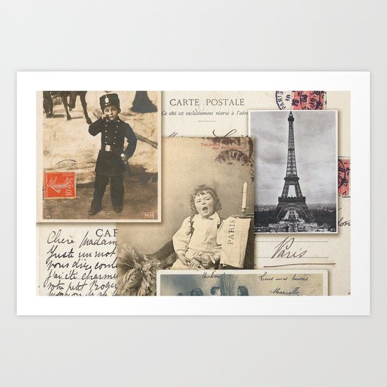 Postale Art Print