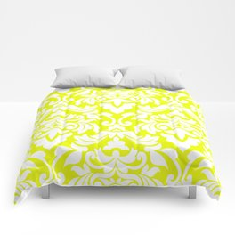 Lemon Fancy Comforters
