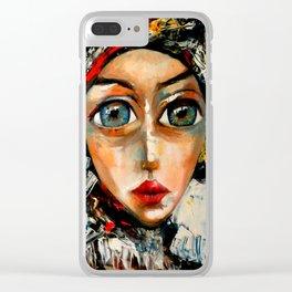 bocados de realidad Clear iPhone Case