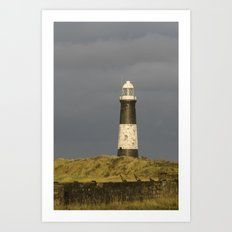 Spurn Point lighthouse Art Print