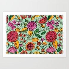 Garden Variety Art Print