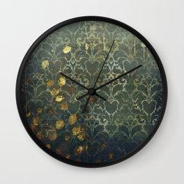 Autumn Rust Wall Clock