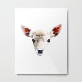 Cute Little Deer Metal Print