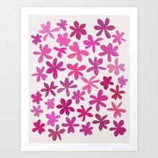 wildflowers 2 Art Print