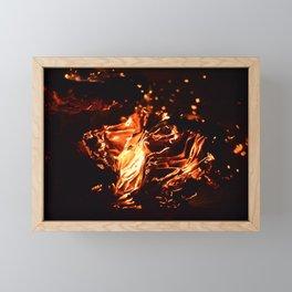 Burning Memoirs Framed Mini Art Print