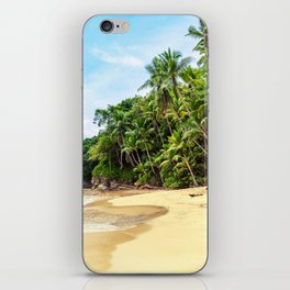 Tropical Beach - Landscape Nature Photography iPhone Skin