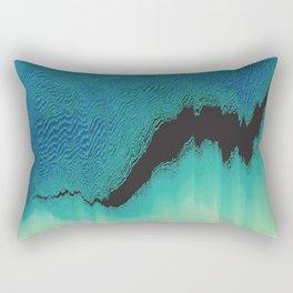 The Rift Rectangular Pillow