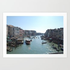 From the Rialto Art Print