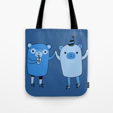 Pawty Time Tote Bag