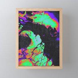 BORDERLINE Framed Mini Art Print