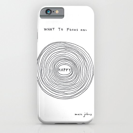 What to focus on iPhone & iPod Case