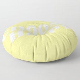 choose happy Floor Pillow