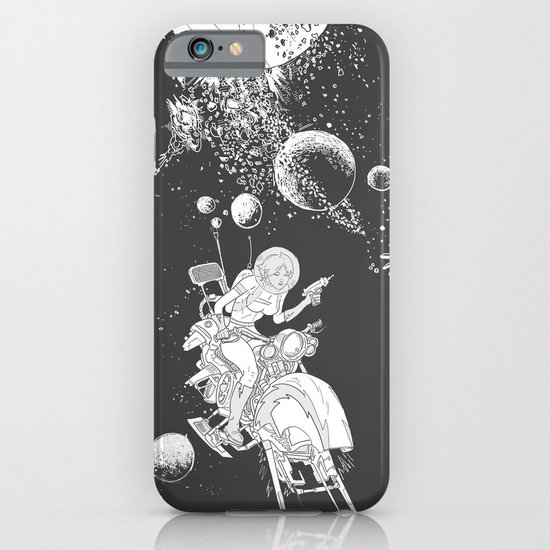 rocket lass iPhone & iPod Case