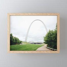 Gateway Arch Framed Mini Art Print