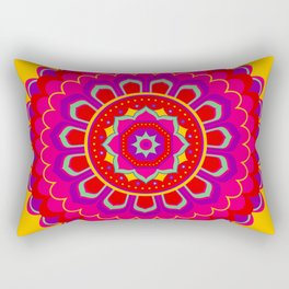 Masala Mandala Rectangular Pillow