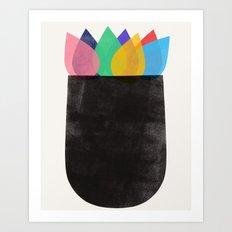 vase study 1 Art Print