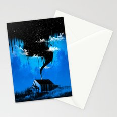 Black Smoke Stationery Cards