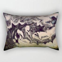 Meeting the Monsters Rectangular Pillow