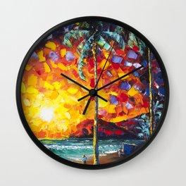 Tower Life 4 Wall Clock