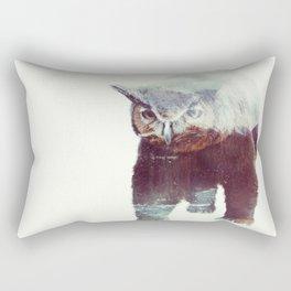 Owlbear Rectangular Pillow