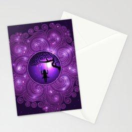 Pondering The Universe Mandala Stationery Cards