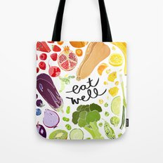 Eat Well Tote Bag