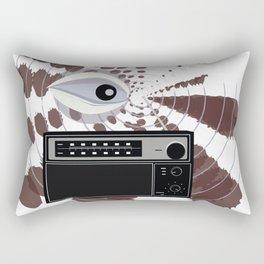 Radio Eye Rectangular Pillow