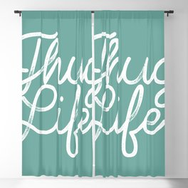 Thug Life Blackout Curtain