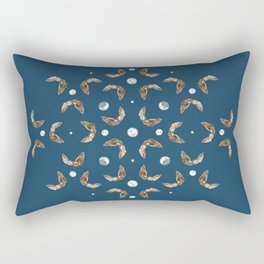 owls & moons Rectangular Pillow